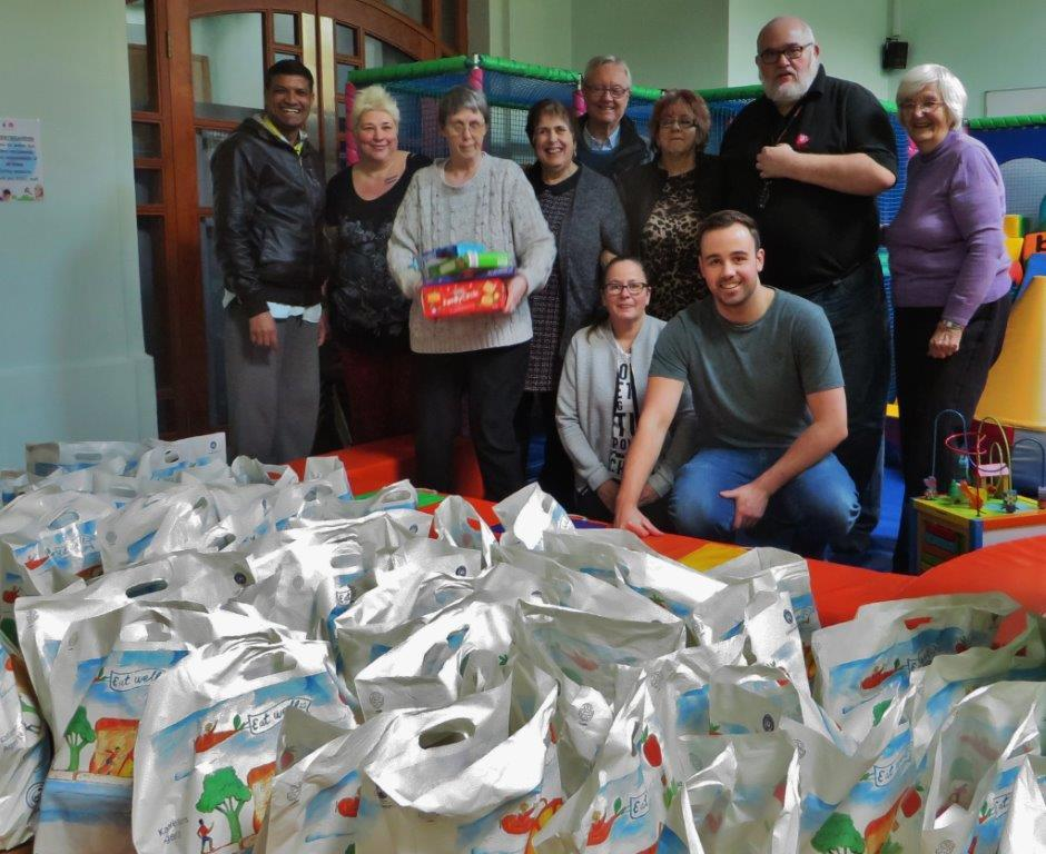 Peter Boyd visits The Foodbank -