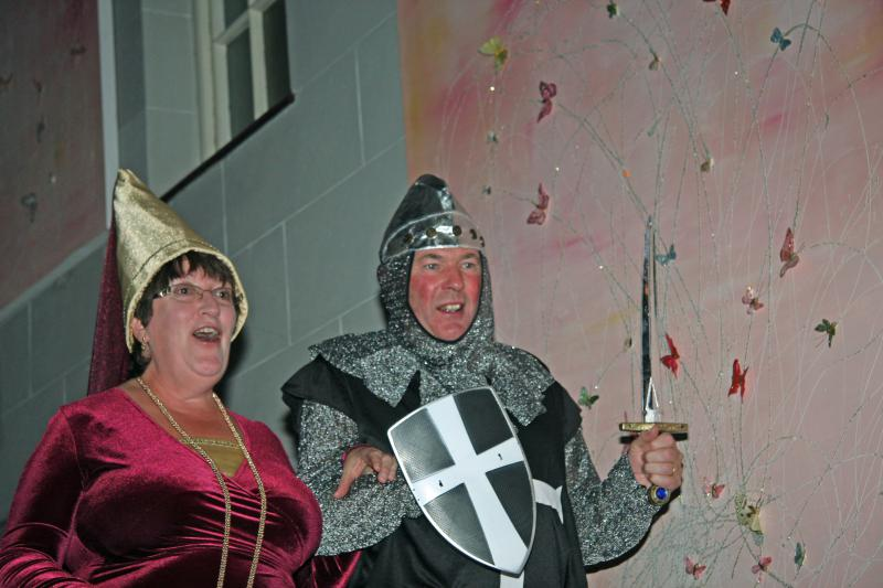 Away Weekend - Lady Francis is amazed by Sir Kens mighty sword