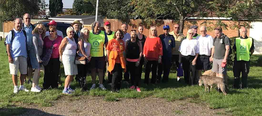 This years Sponsored Walk was on 2-Sep-2018 - IMG 7383