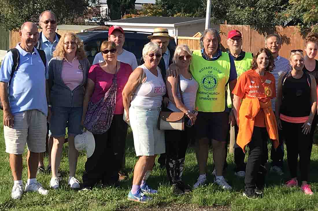 This years Sponsored Walk was on 2-Sep-2018 - IMG 7384