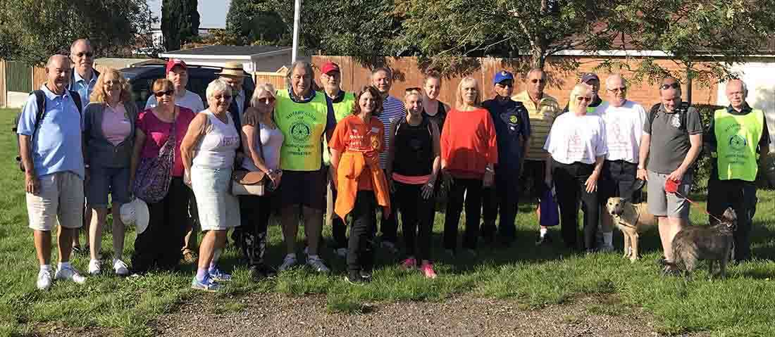 This years Sponsored Walk was on 2-Sep-2018 - IMG 7385