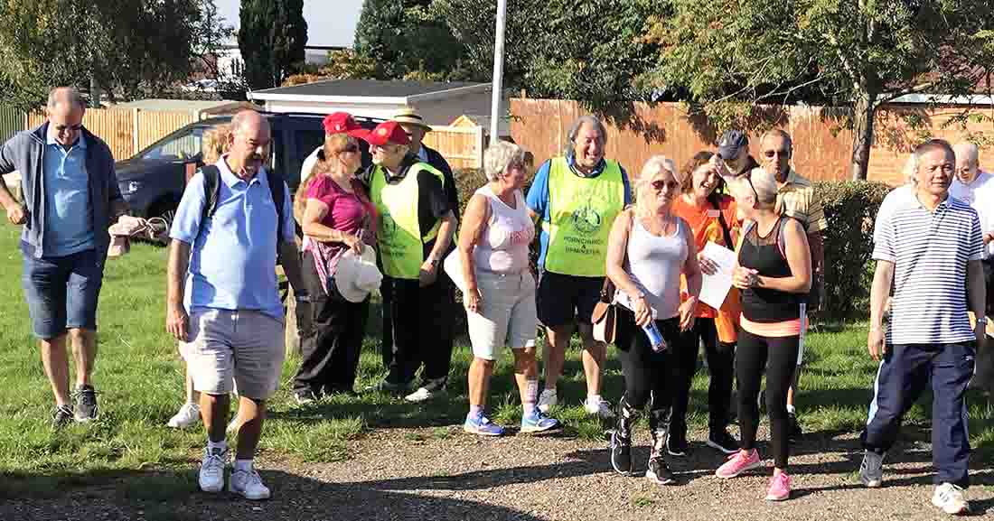 This years Sponsored Walk was on 2-Sep-2018 - IMG 7387