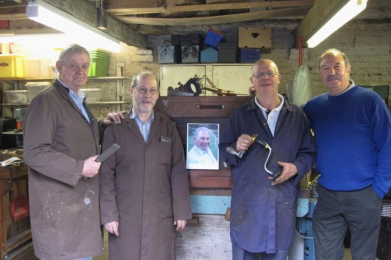International Service - Rotarian Jack meets the Tools for Self Reliance Carshalton team.
