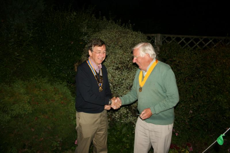 Handover BBQ 27 June 2014 - Graham Woodhouse becomes President-Elect