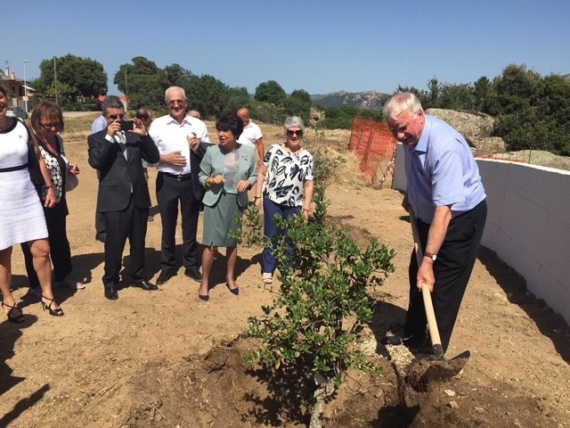 Distrct Governor's Newsletter - July 2017 - starting off the Project for every Rotarian to plant a Tree.