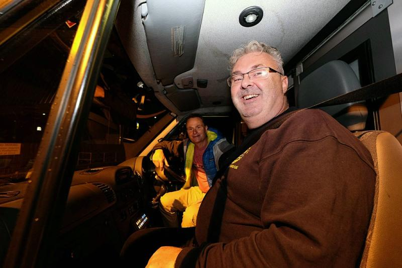 AMBULANCES ON THEIR WAY TO KOSOVO - Ian & Stuart