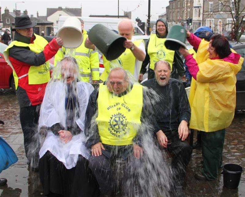 Wensleydale Rotary does Ice Bucket challenge for MNDA - Ice bucket challenge 029 (Custom)