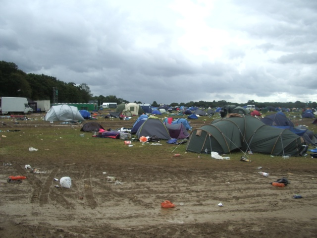 V Festival 2008 - Tent Collection -  The task Ahead
