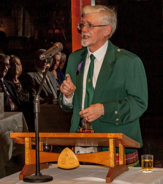 Burns Night at the Rotary - Colin Dove