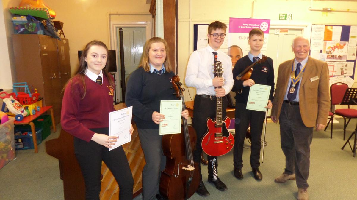 Club Young Musician 2019 - Instrumental Competitiors 2019