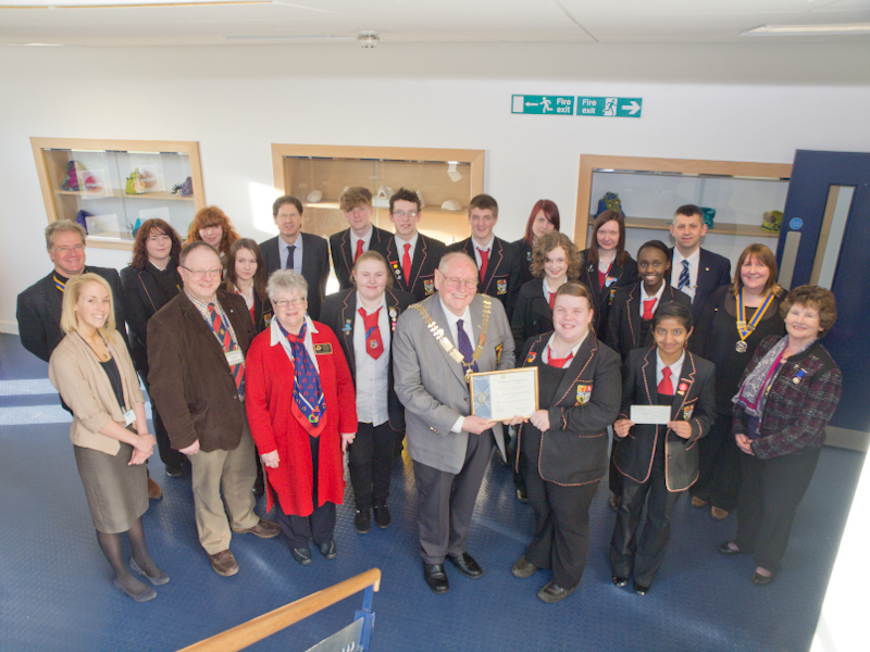 St Andrews RC HS Interact Club Charter - DG Iain MacDonald and the St Andrews HS Interact Club
