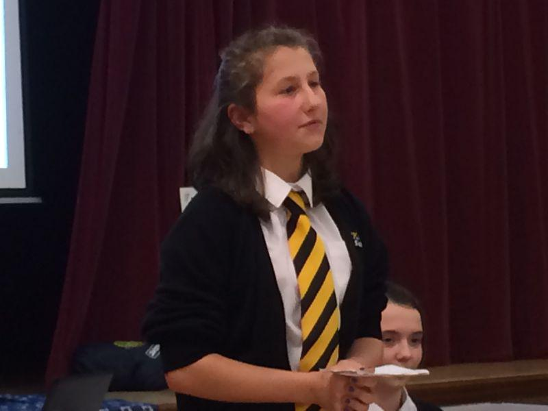 Youth Speaks 2014 - Larkmead main speaker
