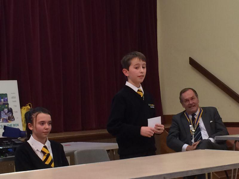 Youth Speaks 2014 - Larkmead Chair