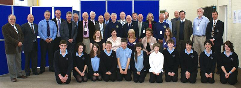 90 Years of history - Frome Rotary Club - Frome College Interviews 2013