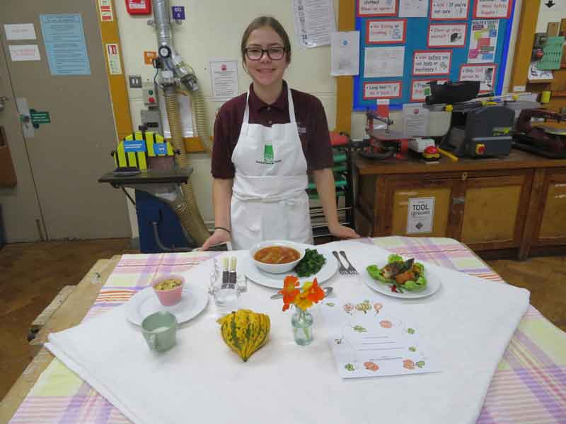 Young Chef Competition - 1st round - highly commended best set table