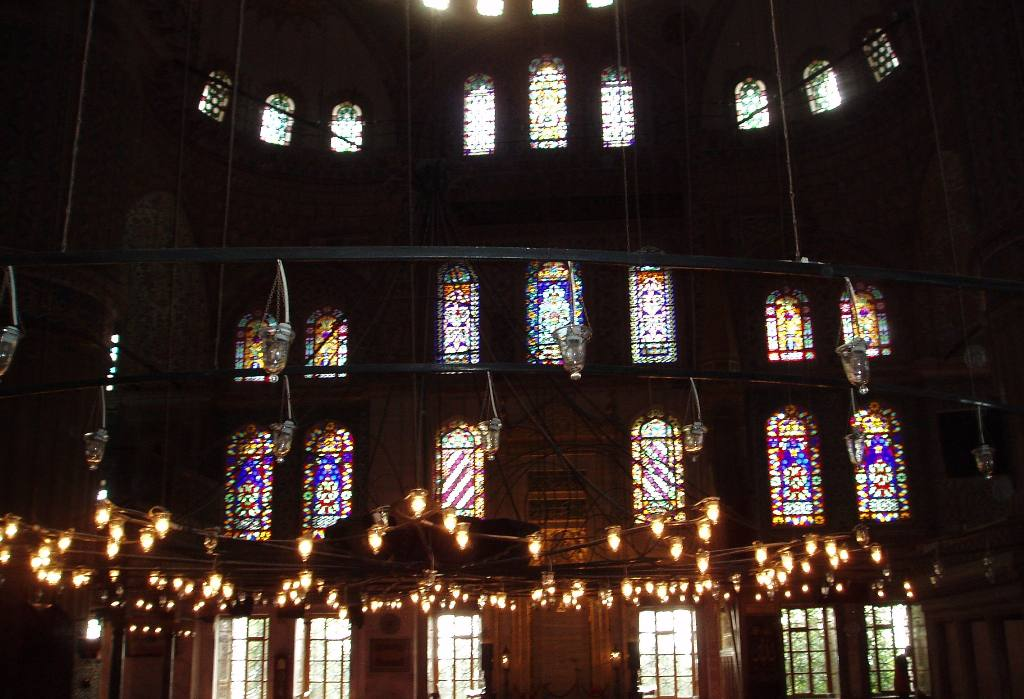Istanbul Cultural Visit - Stained glass windows of the Blue Mosque