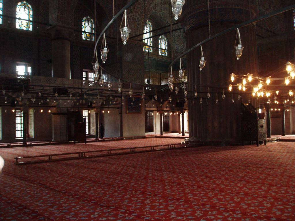 Istanbul Cultural Visit - The carpet for kneeling and praying