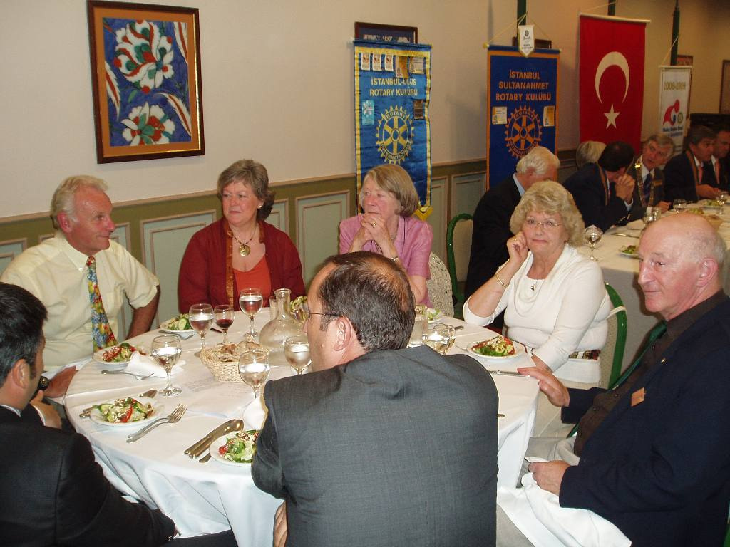 Istanbul Cultural Visit - Members of the party enjoying dinner