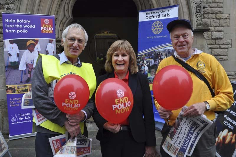 Earlier Initiatives for Polio around Rotary Clubs in the Thames Valley -