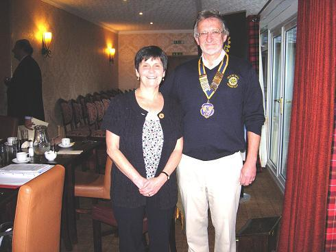 Recent Visitors and Guest Speakers at Skye Rotary - Guest Speaker on Counselling