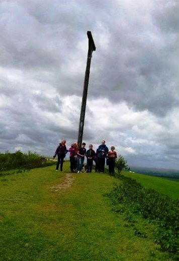 Sponsored walk 2014 - Made it to the top