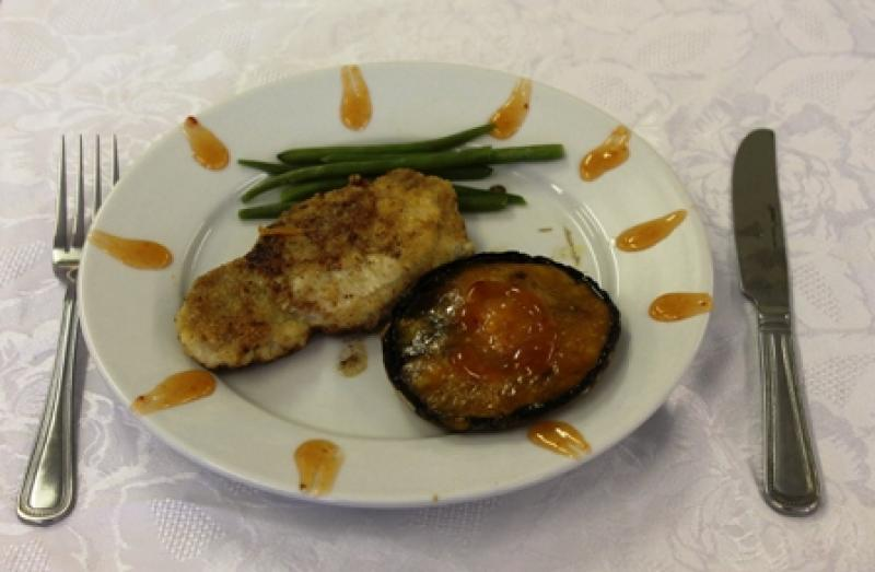 Young Chef 2014/15 - Jade - Pork with stuffed mushrooms