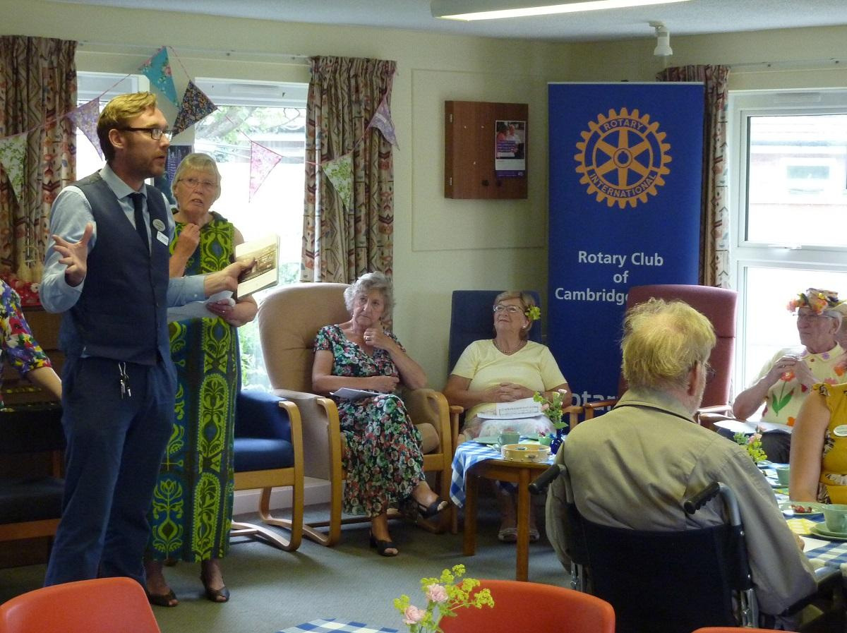 Jun 2019 Girton Memory Cafe - Summer Flowers - .