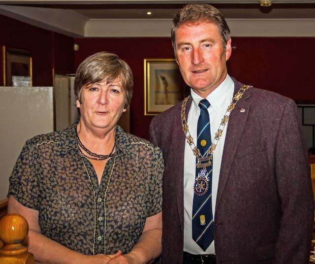 MembersTalks - New member Janet Richardson spoke to the club about her life. Janet has been involved in fund raising since her early school days. Her experience in that area and her accountancy skills will be of tremendous help to the club.
