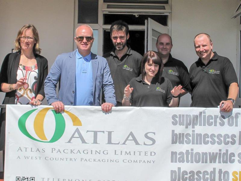 CHARITY GOLF DAY AUGUST 2013 - Jason Sharman and his team of helpers from Atlas Packaging
