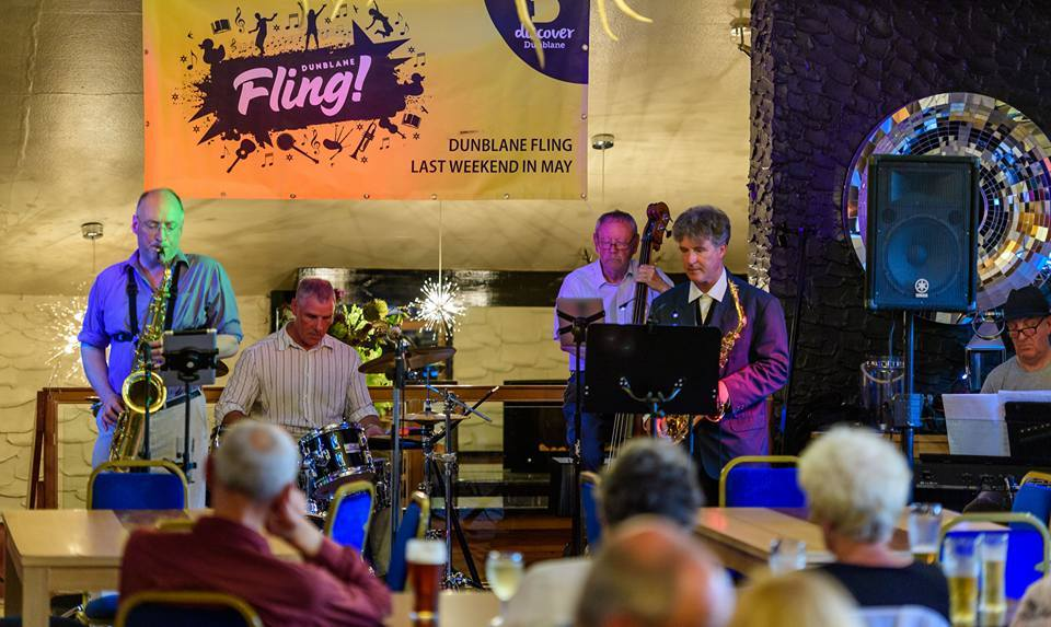Some Photos from the Duck Race and Fling 2018 - Jazz Night