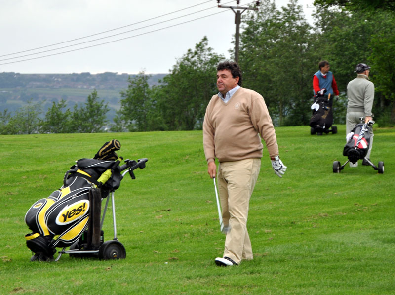 Outside visit - Golf Evening 2012 - John the Luddites number 1 golfer