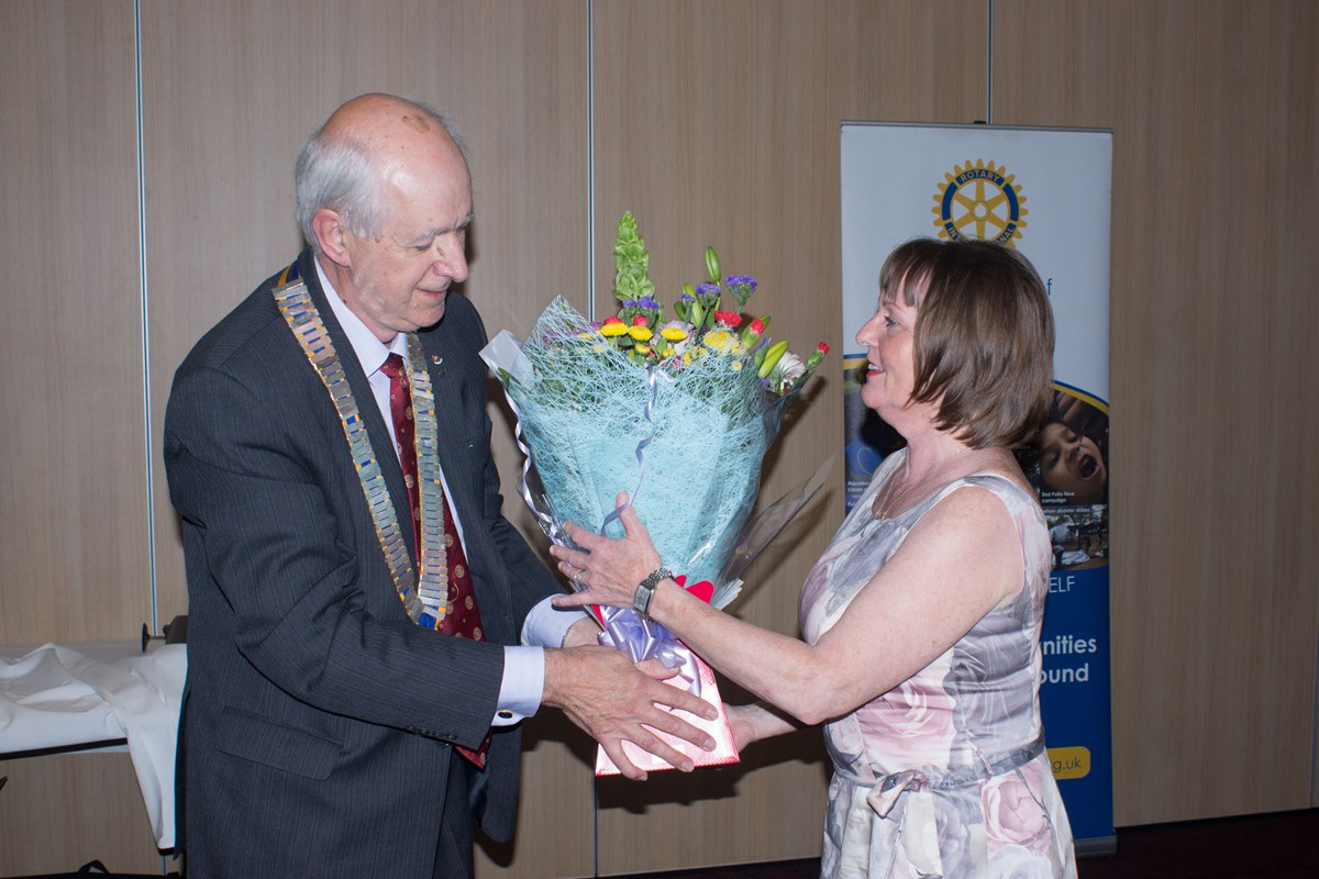89th Charter Dinner and Handover - Flowers for Josephine