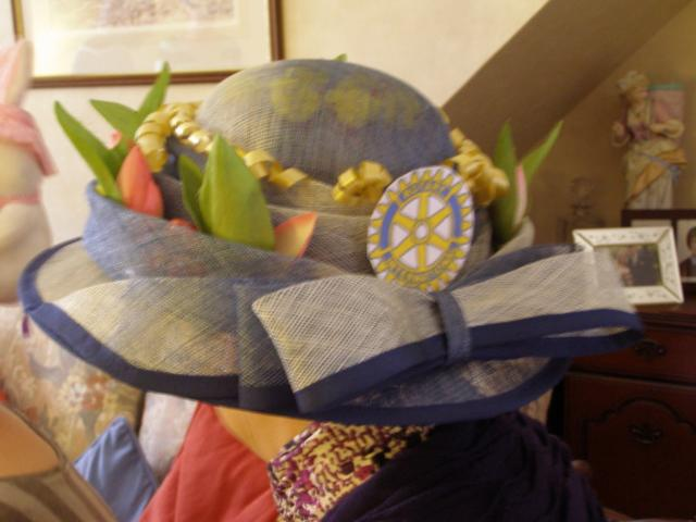 Rotary Ladies Easter Hats - Judy Glendinning's winning hat.