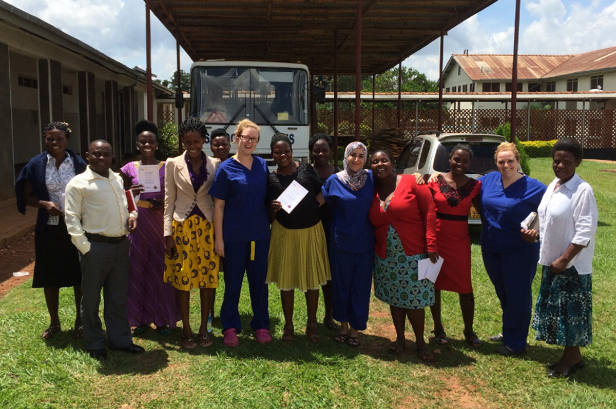 Kamuli Mission Hospital - May 2016 - at the end of a successful week