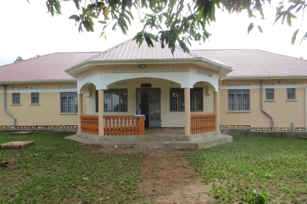 Kamuli Mission Hospital - October 2015 - the new guesthouse, built for visiting volunteers