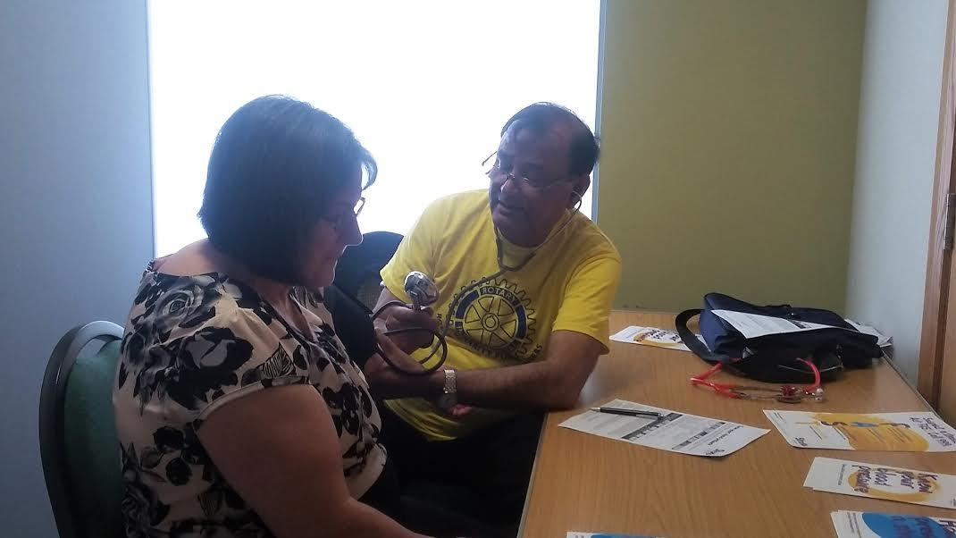 Know Your Blood Pressure Event 9th April 2017 -
