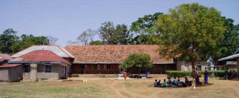 Improving Maternal Health at Kamuli - View of the old buildings