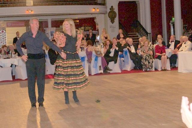 Strictly Come Rotary Dance Competition - Karen and Doug Kenward dancing the Paso Doble