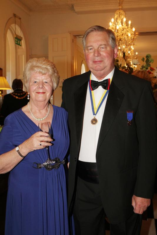 Cheltenham North Charter Anniversary Dinner 26th April 2012 - Kath and Bill Cars