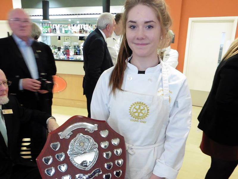 Rotary Young Chef 2015-16 Regional Final March 2016 - The Regional Winner from Dorchester