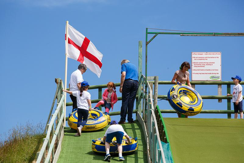 KidsOut Day 2014 - This time it's Mega Slide, ready steady go.....