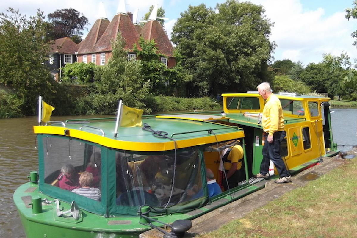 Rotary SE Showcase - Taking people for trips on the River Medway