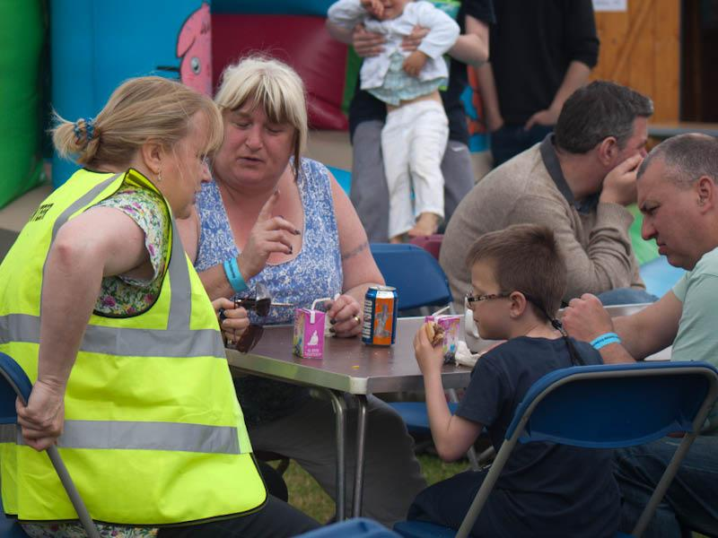 Kinship Gathering Burntisland - Barbecue at the Toll Centre