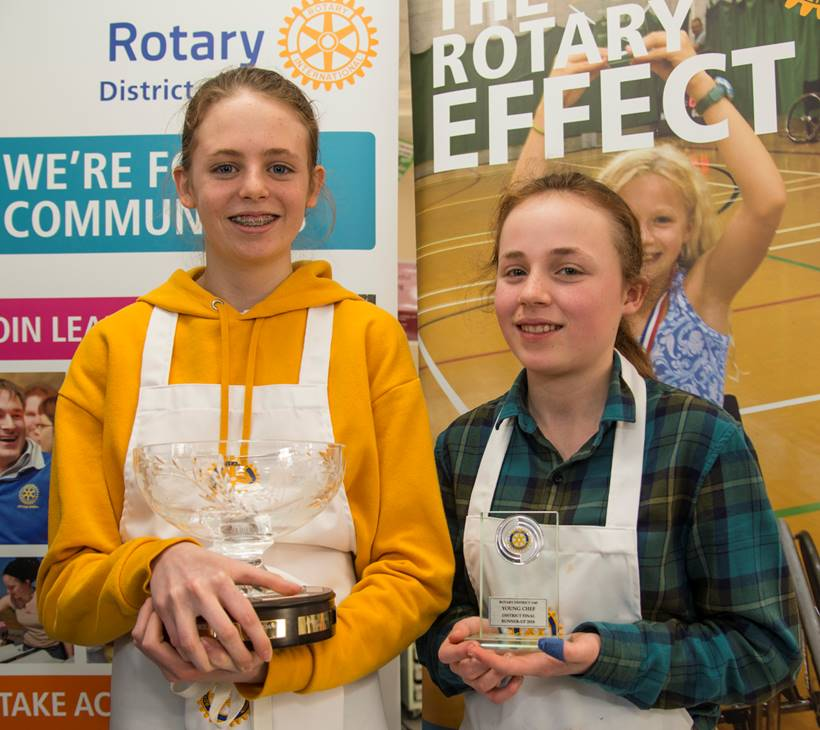 Young Chef 2018 - Our National Finals Winner - Kitty and runnerup