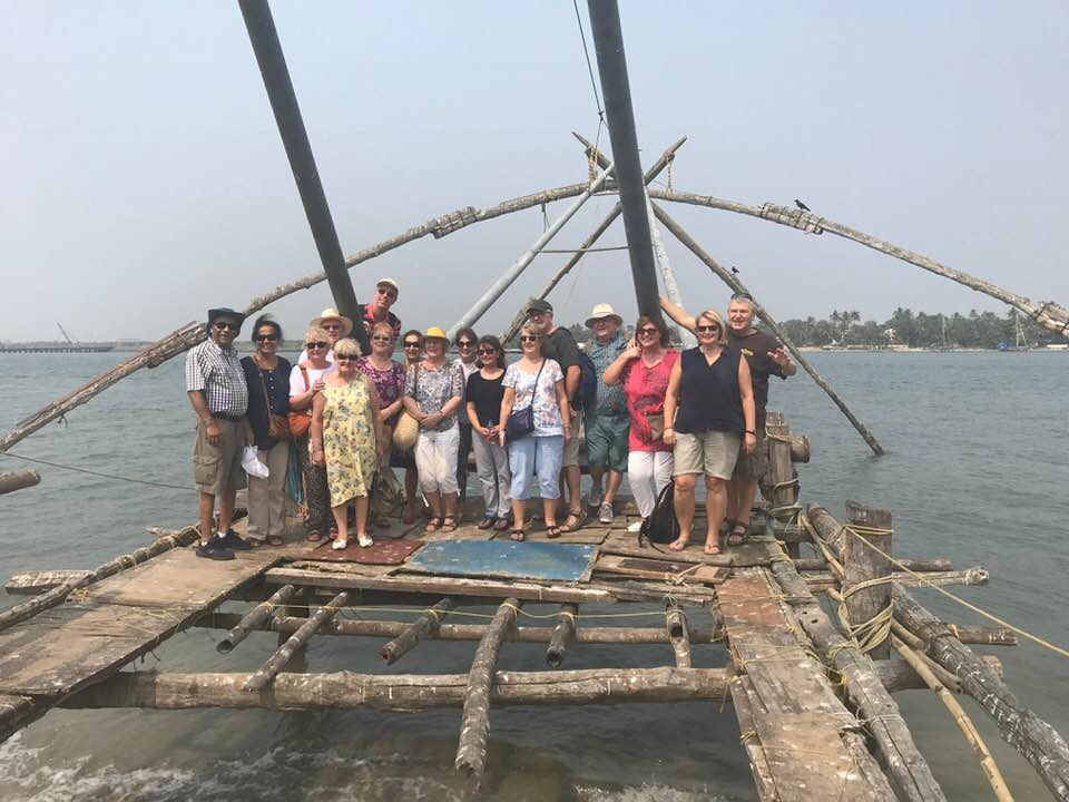 Tour of Kerala, India, 2018 - Kochi Group Arabian Sea