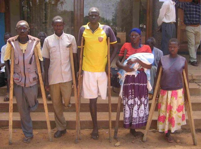 World Service - Picture of patients waiting fro treatment in Kumi, Eastern Uganda