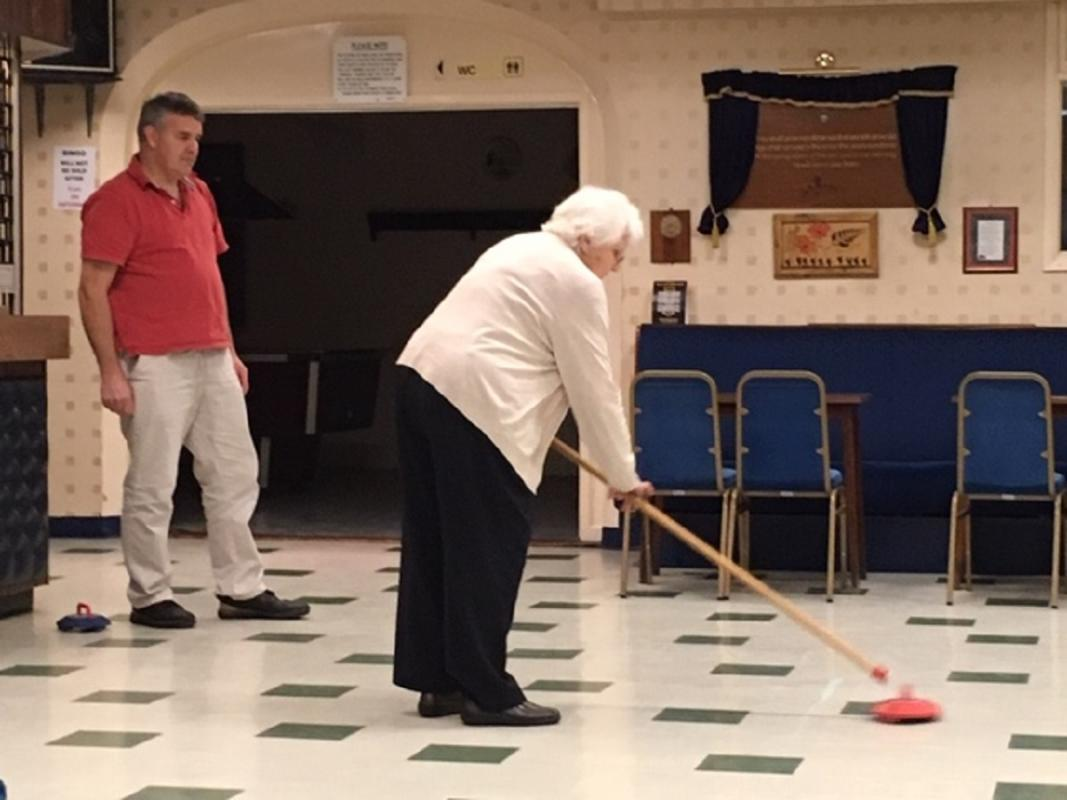 Kurling Evening, Radcliffe-on-Trent -