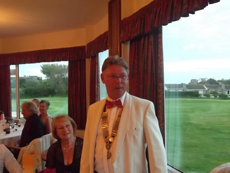 Tribute to Past President Frank Field - Ladies Night 29-6-12 061 1