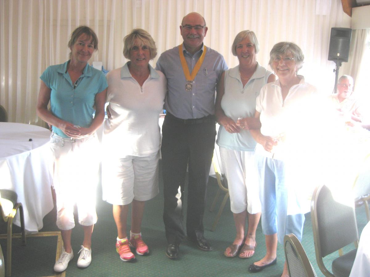 Charity Golf Day ~ Selection of Event Photos - Ladies-winners-2017-Golf-Day