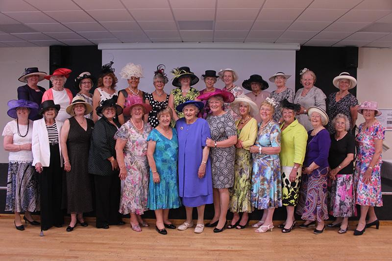 90 Years of history - Frome Rotary Club - Wives at President Dots Ladies Day